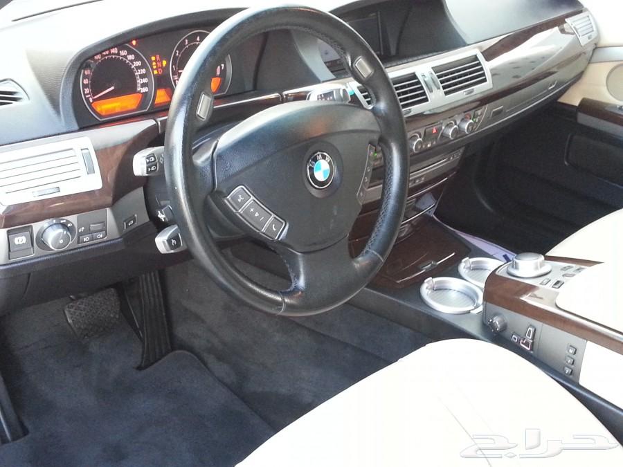BMW 730il بي أم دبليو موديل 2008 مع رقم مميز 52b98ec328896.jpg