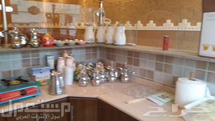 ديوانية قهوة وشاهي للبيع بالرياض بحي اشبيليا