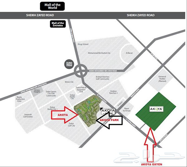 فيلا 6 غرف ماستر بسعر الافتتاح بقلب دبي وبالتقسيط 54d1e99197d4d