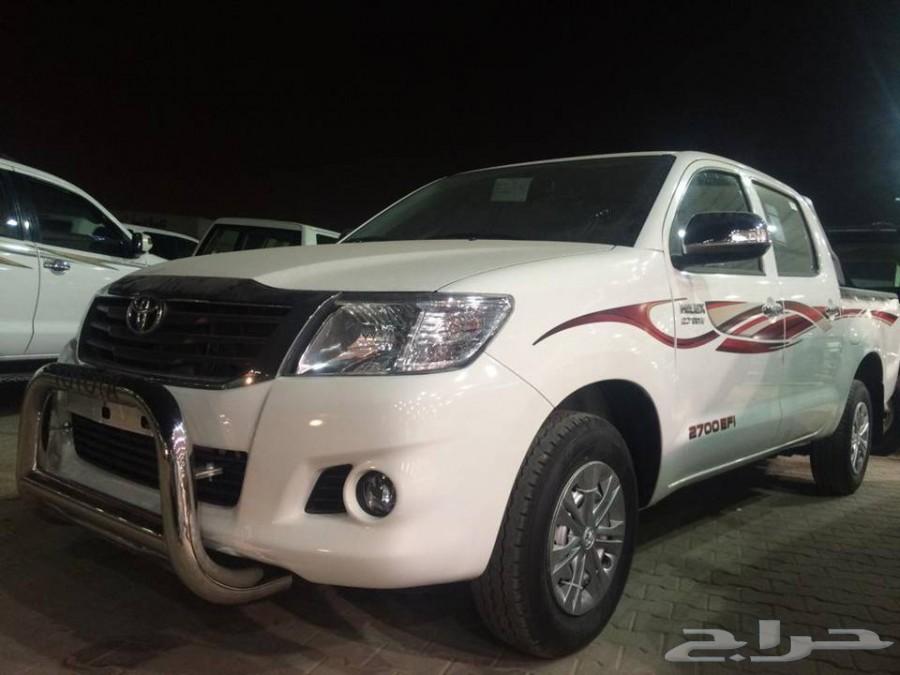 حراج السيارات    تويوتا هايلكس غمارتين GLX سعودي 2015 ( اقل سعر )