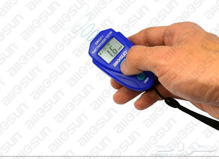 كاشف سمكرة ودهان السيارة -لمعرفة أماكن الرش والسمكرة بسهولة ودقة- Painting Thickness Meter Gauge
