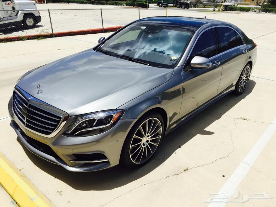 مميز 2015 Mercedes-Benz S550 بسعر