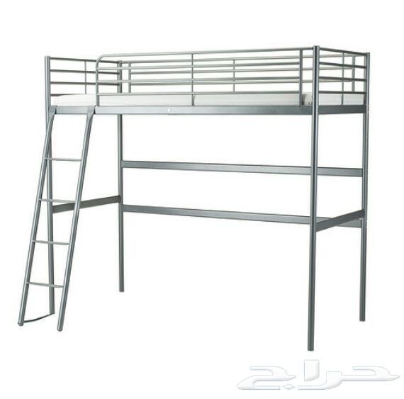 : سرير ايكيا الحديد : سرير