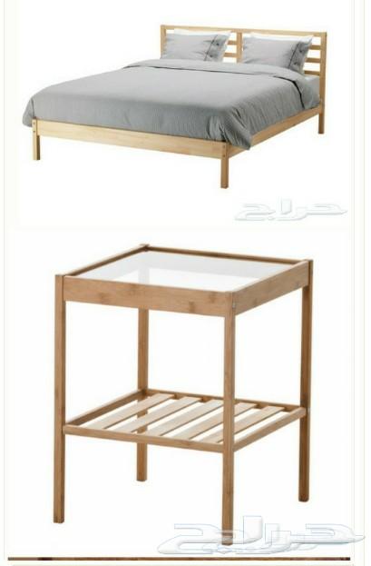 : غرفة نوم من ايكيا للبيع : غرف